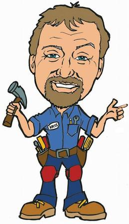Kris Lindstrom is The Palmdale Handyman