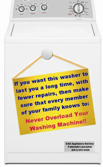 Washing Machine Tips in The Antelope Valley, CA